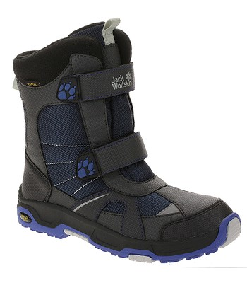 detské topánky Jack Wolfskin Polar Bear Texapore - Vibrant Blue