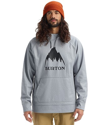 sweatshirt Burton Crown Bonded Pullover - Gray Heather - men´s