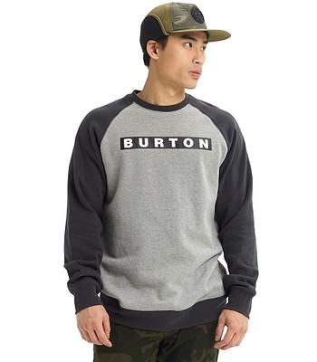 Sweatshirt Burton Vault Crew - Gray Heather - men´s