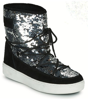 topánky Tecnica Moon Boot Pulse Mid Disco - Black
