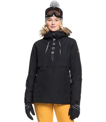 jacket Roxy Shelter - KVJ0/True Black - women´s