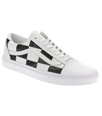 shoes Vans Old Skool - Leather Check/True White/Black