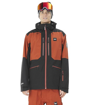 jacket Picture Naikoon - Brick - men´s