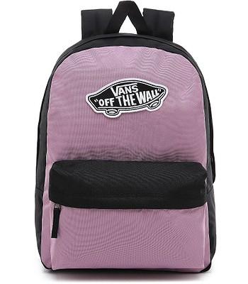 backpack Vans Realm Classic - Valerian/Black - women´s