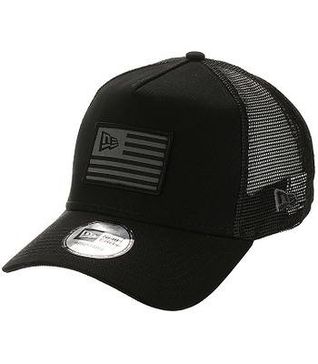 kšiltovka New Era 9FO Aframe Flag Trucker - Black/Graphite
