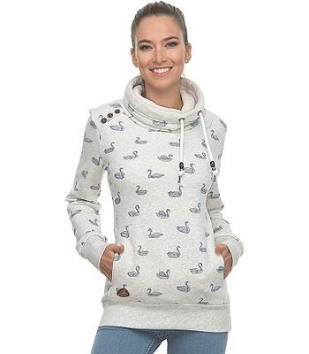 sweatshirt Ragwear Hablaria Swans - 7000/White - women´s