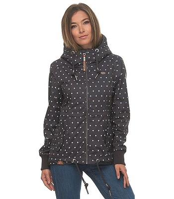 jacket Ragwear Danka Bluebell - 3012/Dark Gray - women´s
