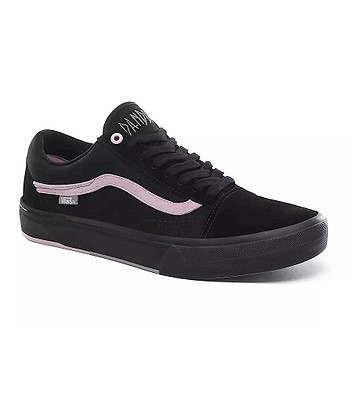 chaussures Vans Old Skool Pro BMX - Matthias Dandois/Black/Pink - men´s