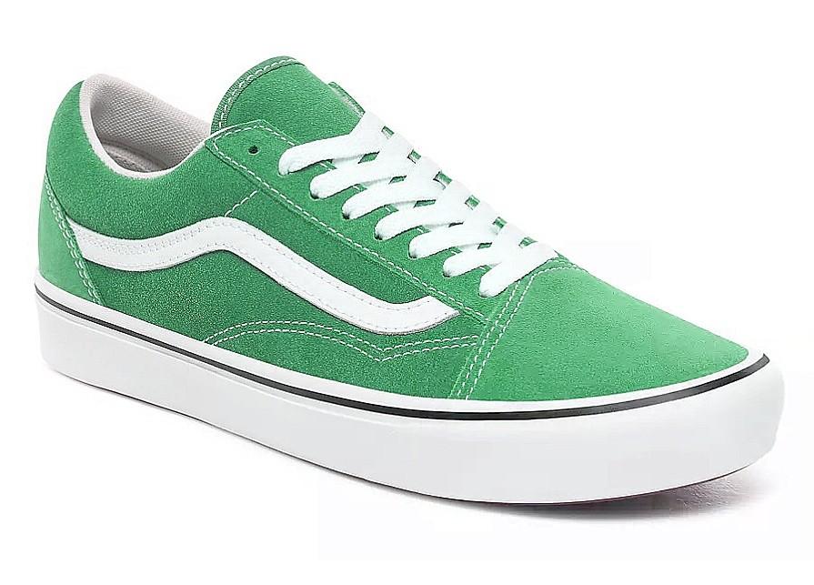 Old Skool - Suede/Fern Green/True White