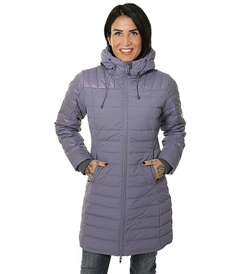 coat Husky Daili - Gray/Purple - women´s