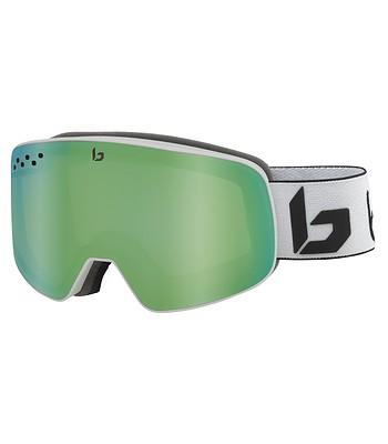 glasses Bollé Nevada - Matte White Corp/Green Emerald