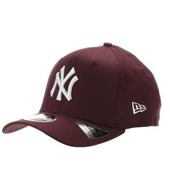 czapka z daszkiem New Era 9FI Stretch Snapback MLB New York Yankees - Maroon/White