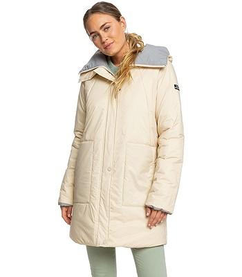 płaszcz Roxy Freese Reversible - TFN0/Oyster Gray