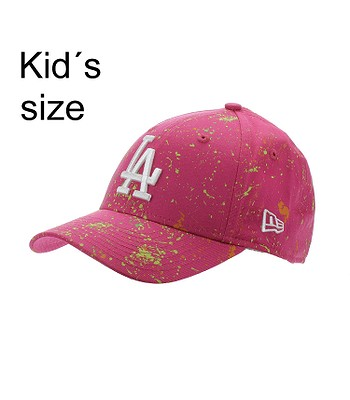 casquette New Era 9FO Paint Pack MLB Los Angeles Dodgers Youth - Bright Pink - girl´s