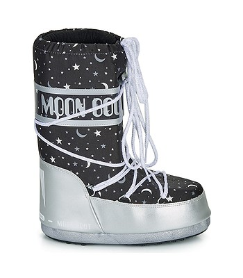 shoes Tecnica Moon Boot Universe - Silver/Black - girl´s