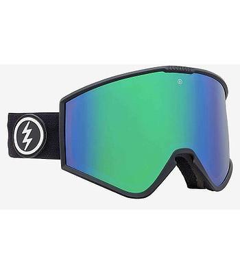 brýle Electric Kleveland - Matte Black/Brose/Green Chrome