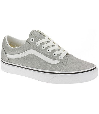 shoes Vans Old Skool - Silver/True White