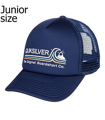 casquette Quiksilver Standards Trucker Youth - BYJ0/Navy Blazer - boy´s