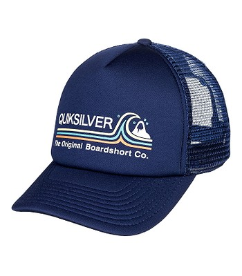 cap Quiksilver Standards Trucker - BYJ0/Navy Blazer - men´s
