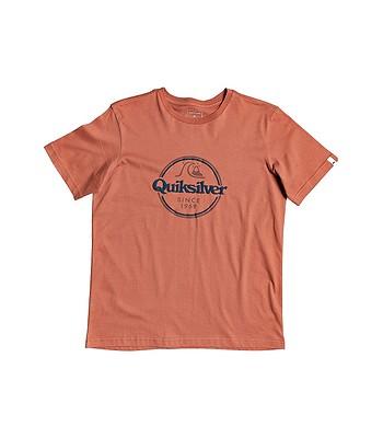tričko Quiksilver Words Remain II - MNL0/Redwood