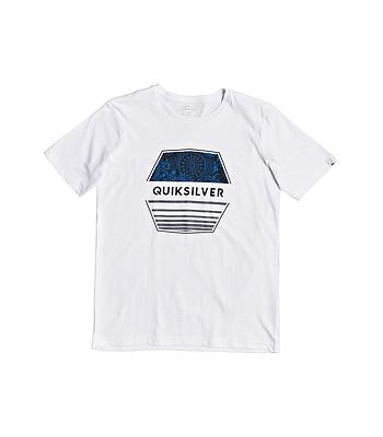 T-Shirt Quiksilver Drift Away - WBB0/White - boy´s