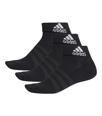 chaussettes adidas Performance Light Ank 3 Pack - Black/Black/Black