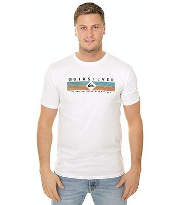 T-Shirt Quiksilver Distant Fortune - WBB0/White - men´s