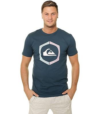 T-shirt Quiksilver Sure Thing - BSM0/Majolica Blue - men´s