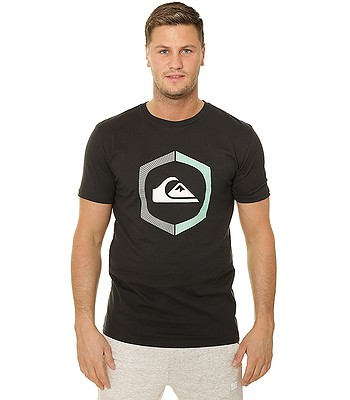 T-Shirt Quiksilver Sure Thing - KVJ0/Black - men´s