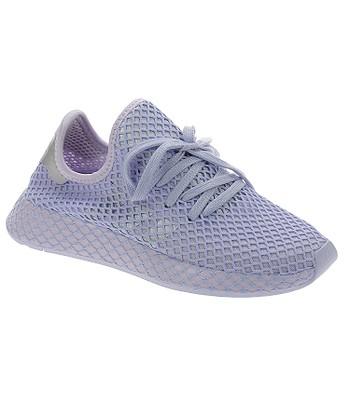 shoes adidas Originals Deerupt Runner - Purple Tint/Silver Metallic/Periwinkle - women´s
