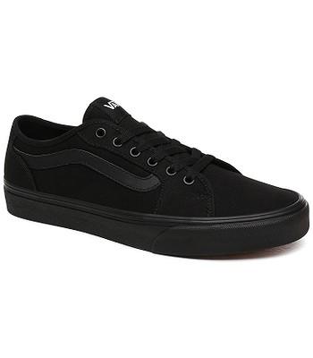 shoes Vans Filmore Decon - Canvas/Black/Black - men´s