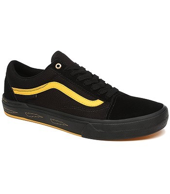 Schuhe Vans Old Skool Pro BMX - Larry Edgar/Black/Yellow - men´s