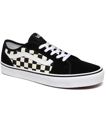 chaussures Vans Filmore Decon - Checkerboard/Black/White - men´s
