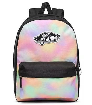 backpack Vans Realm - Aura Wash/Black - women´s