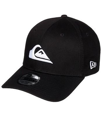 czapka z daszkiem Quiksilver Mountain and Wave Black New Era 39Thirty - WBB0/White