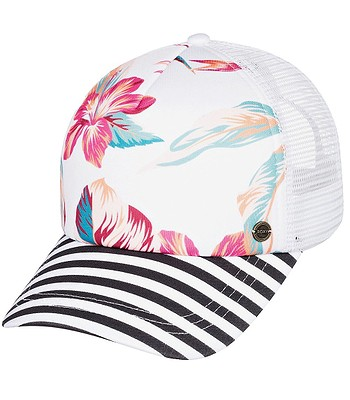 cap Roxy Beautiful Morning - WBK7/Snow White Tropic Call - women´s