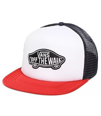 šiltovka Vans Classic Patch Trucker - Racing Red/White