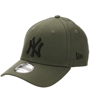 šiltovka New Era 9FO Essential MLB New York Yankees - Olive/Black