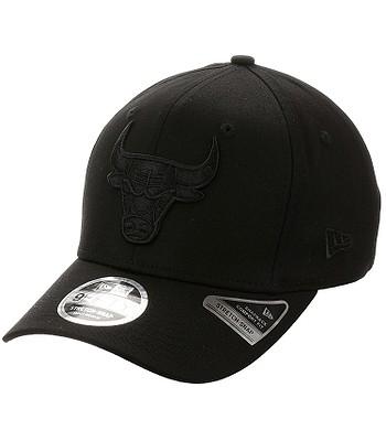 czapka z daszkiem New Era 9FI Tonal Stretch NBA Chicago Bulls - Black