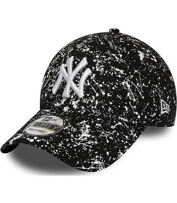 czapka z daszkiem New Era 9FO Paint Pack MLB New York Yanke - Black/White