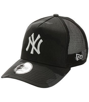 Kappe New Era 9FO AF Essential Camo Trucker MLB New York Yankees - Midnight Camo - men´s