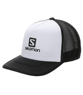 šiltovka Salomon Summer Logo Trucker - White/Black