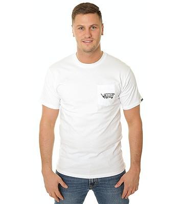 T-Shirt Vans Rowan Zorilla Skull - White - men´s