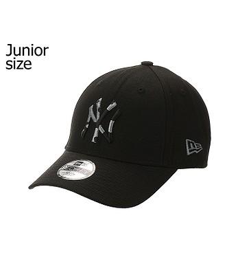 cap New Era 9FO Infill Camo MLB New York Yankees Youth - Black - unisex junior
