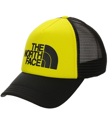 czapka z daszkiem The North Face Logo Trucker - TNF Black/TNF Lemon