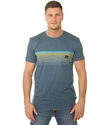 tričko Quiksilver Slab Pocket - BSMH/Majolica Blue Heather