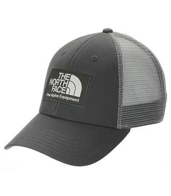 kšiltovka The North Face Mudder Trucker - Asphalt Grey