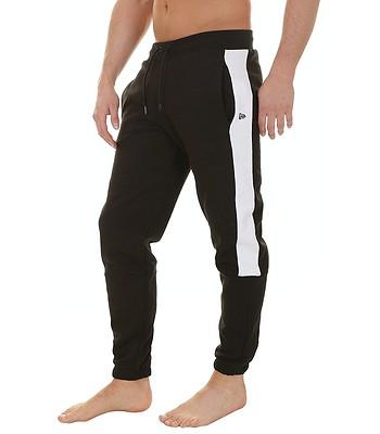 spodnie dresowe New Era Track NBA - Black/White