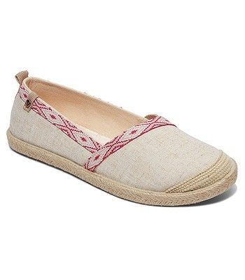 chaussures Roxy Flora II - NCP/Natural/Crazy Pink - women´s