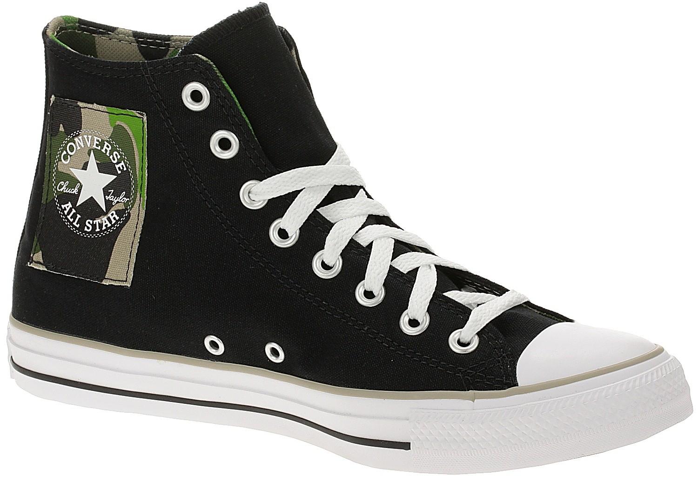 shoes Converse Chuck Taylor All Star Camo Patch Hi - 167179/Black/Khaki/White